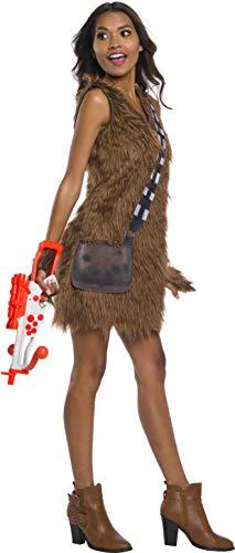 Womens Kostüm Chewbacca - Rubie's Star Wars Women's Chewbacca Dress Fancy Dress Costume Medium