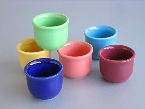 Creatable 14016 6 Coquetiers, Porcelaine, Multicolore, 17 x 11 x 6 cm