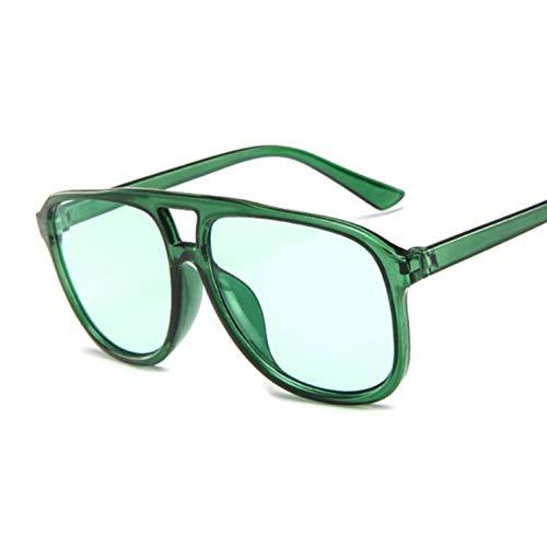 DWSYDA Sonnenbrille-Frauen-transparente Farbton-Sonnenbrille-weibliche kühle Farbe,4