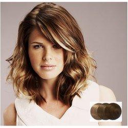 Balmain Extensions en cheveux synthétiques Tête complète Couleur sable foncé 40 cm