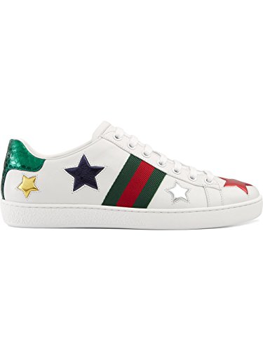 Gucci-Womens-454562DOP509076-Multicolor-Leather-Sneakers