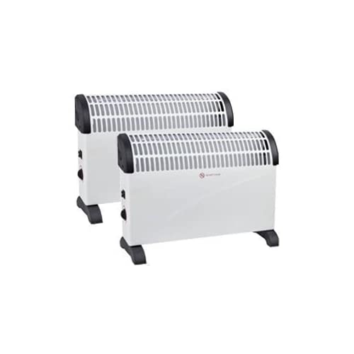 313tWUcesyL. SS500  - 2 X 2000W Portable Electric Thermostat CONVECTOR Heater Winter 2KW Wall Mounted Fan