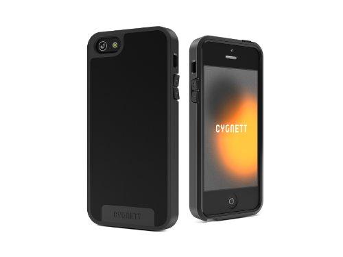 Cygnett Apollo Schutzschale für iPhone 5 (inkl. Displayschutzfolie) schwarz
