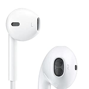 Apple iPhone 5S 64 GB Compatible Stereo Earphone with Mic and Volume Controller Headphone Headset Hands-free Mini Size 3.5mm jack Compatible With All Android Samsung , I Phone , Xiaomi , MI , Sony , Micromax , Motorola and other Android Devices By Paper Plane Design