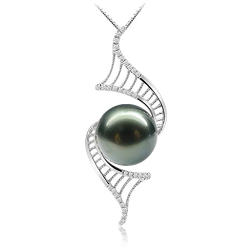 amdxd-jewelry-sterling-silver-women-pendant-necklace-pearl-black-cz-love-925-chain-as-birthday-gift