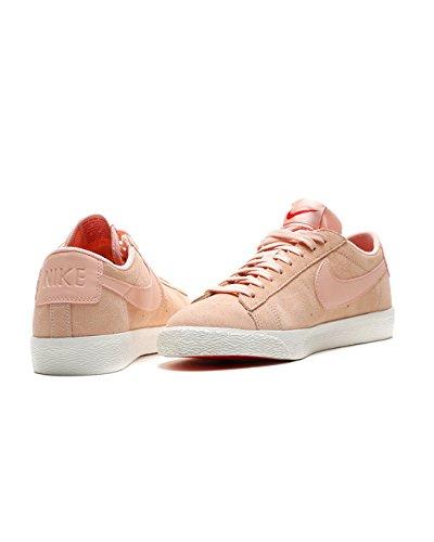 NIKE Blazer Low Schuhe Herren Echtleder-Sneaker Turnschuhe Rosa 371760 801 naranja