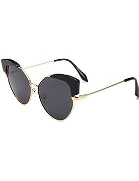 ANHPI Gafas De Sol Polarizadas Moda Para Mujer De Metal Cómodo Protección Solar Protección UV Gafas De Sol De...