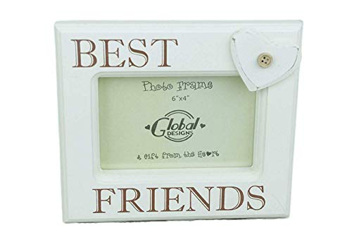 Shabby Chic Best Friends Picture Frame - Gift for a Special Friend