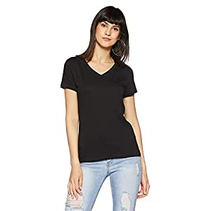 United Colors of Benetton Women's Plain Regular Fit T-Shirt