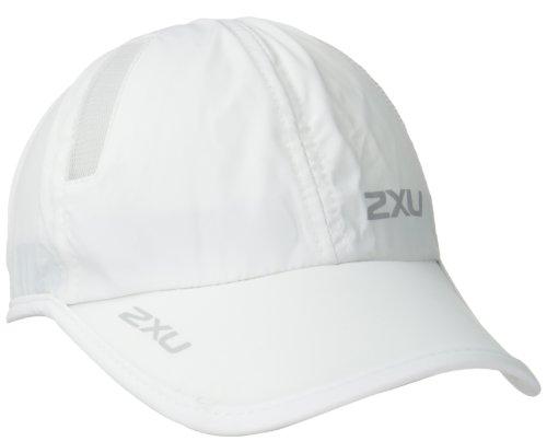 2x U Run Casquette, Blanc, Taille Uniqu