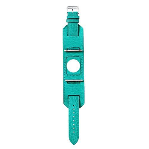 xue binghualoll Für Apple Watch Serie 4/3/2/1 Leder uhrenarmband Schnalle metallschnalle 38mm / 40mm / 42mm / 44mm (Und Schwarz In Gold Hermes Armband)
