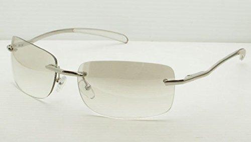 Sin Marco Transparente/luz marrón lentes sun-glasse segunda mano  Se entrega en toda España