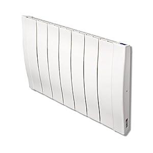 Haverland RCW – Emisor Térmico De Inercia De Fundición De Aluminio Bajo Consumo, de Potencia, Elementos, Pantalla LCD y…