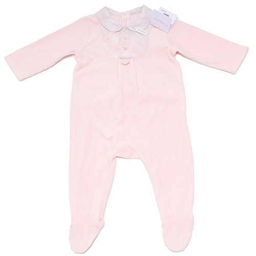 BURBERRY 6299F tutina Bimba rosa tutine Rompers Kid [9 Months]