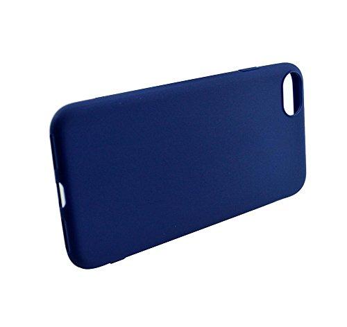 Hosaire Telefon Fall Mode Silikon-Telefon-Kasten Handy-Sets für iPhone 7,Blau Hellblau