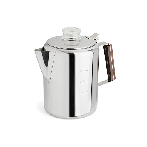 TOPS MFG. 409 Rapid Brew Stainless Steel Coffee Percolator 313u6xCawGL