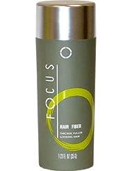 Focus Pure Organic Keratin Hair Building Fibers/hair Loss Concealer, 35 Grams/1.225 Oz. Per Bottle (107 Days Supply). 120 Days Money Back Guaranteed. (Dark Brown) by Focus