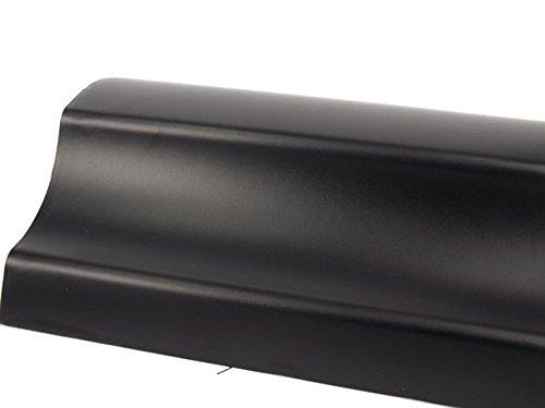 5,26€/m² Autofolie Schwarz Matt dehnbare Folie Luftkanalkleber Selbstklebend 152cm Breit (1m x152 cm)