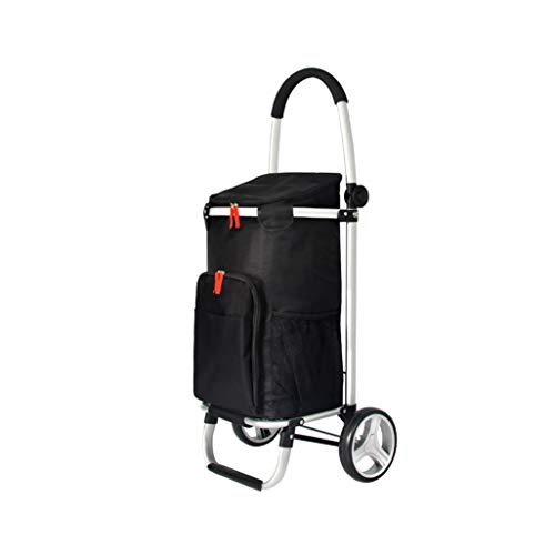 Carrello multiuso Pieghevole carrello della spesa carrello a rulli rigido carrello piatto carrello per bagagli Il carrello è ideale per trasportare merci