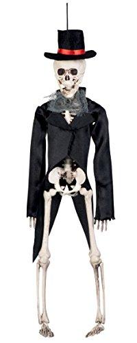 Boland 72090 - Deko-Figur Skelett Bräutigam, Sonstige Spielwaren