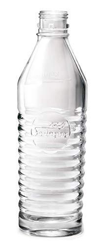 MySodapop hochwertige 1L Glaskaraffe für Wassersprudler Jerry und Sharon inkl. Bottle-Shirt