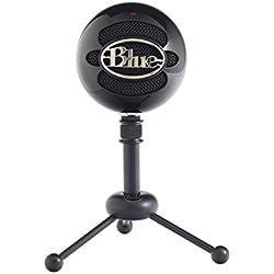 Blue Microphones Snowball- Micrófono USB, Negro
