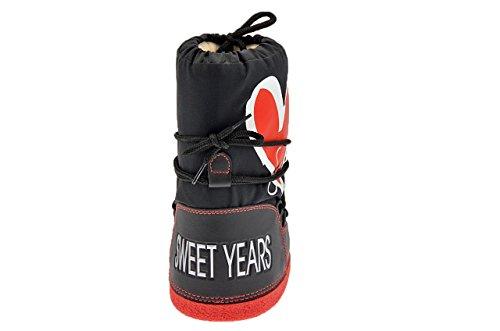 Sweet Years 797 Stiefel Schneestiefel Neu Kinder. Schwarz