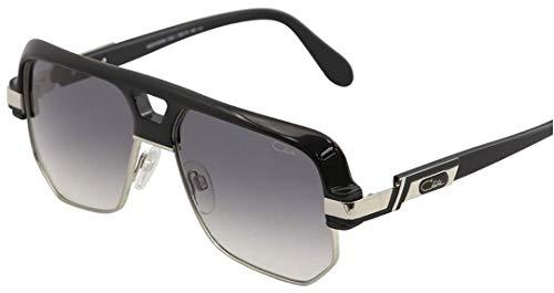 5d7f5233b2f Cazal Sunglasses Legends 672 304 001 Black Silver Grey Gradient 100%  Authentic