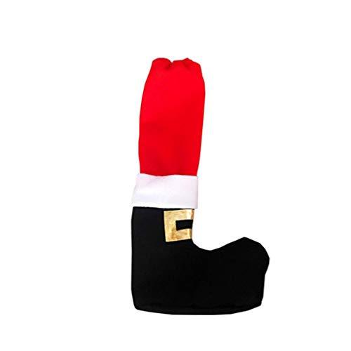Ben-gi Schneeflocke-Weihnachts Stuhl Fuß Abdeckung Socken Xmas Party Tisch Bein-Socken-Dekorationen (Boden-abdeckungen Für Parteien)