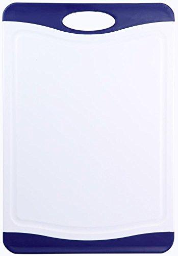 36 x 25 cm in anthrazit Granit-Optik mit Saftrinne culinario Schneidebrett ca
