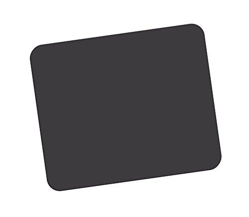 Fellowes 29704 Standard Polyester-Oberfläche rechteckig Mauspad schwarz (Fellowes Maus Schwarz)