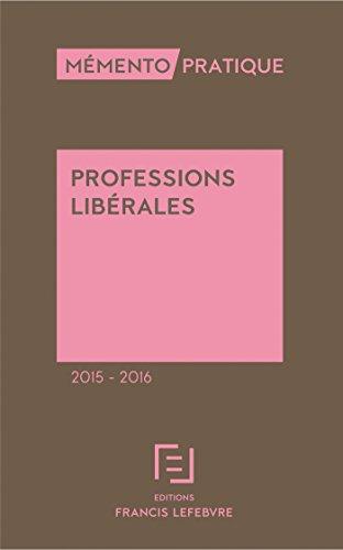 Mémento Professions libérales 2015/2016