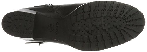 Geox D New Lise Np Abx A, Stivali Donna Nero (Black)
