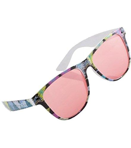 Neff Sonenbrillen Daily in über 25 neuen stylischen Farben (One Size / Einheitsgrösse, Pink Tribal)