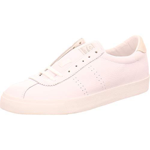 Superga Schnürschuhe Sneaker weiß 39