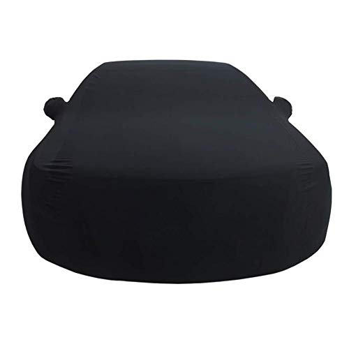 WJQSD Autoschutzhülle Autoabdeckung Gilt for Rolls-Royce Cullinan Indoor-Ausstellungshalle Keller Car Cover Sonnenschutz Stretch Tuch Auto Show Garage (Color : Black, Size : One Size)