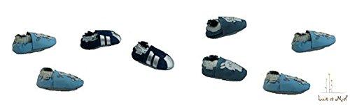 Lait Et Miel , Chaussures souples pour bébé (fille) Blanc Motif girafe 12-18 mois Lapin
