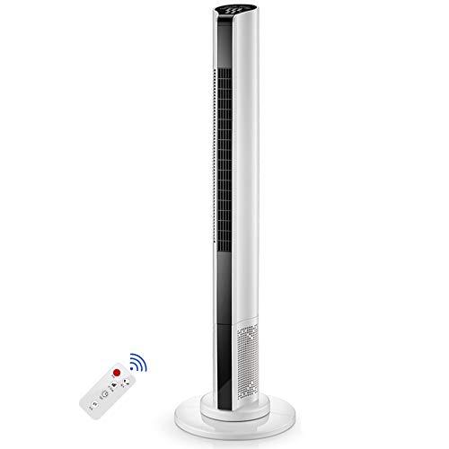 Tower fan Turm-Fans, Leise Standventilatoren, Ferngesteuerter Moving Head-Standventilator, 90CM, 110CM (Color : B) -