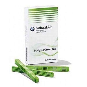 Kit de recambio para ambientador original BMW Natural Air, olor a té verde, (83122285674)