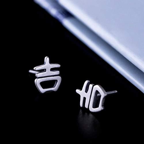 tecker Vintage S925 Silber für Männer und Frauen, günstige Aussie Ohrringe, Klassische Ohrringe ()