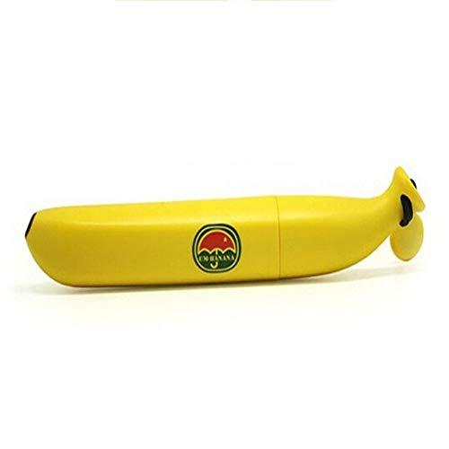 Like More Bananen-Regenschirm, der kampierenden Reise-tragbaren dauerhaften Kinderregenschirm im Freien faltet,Yellow