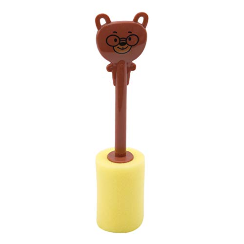 Schale Bär (Bigsweety Kreatives Nettes Tierform Karikatur Schwamm Schalen Bürsten Flaschen Reinigungswerkzeug Küchengerät (Bär))