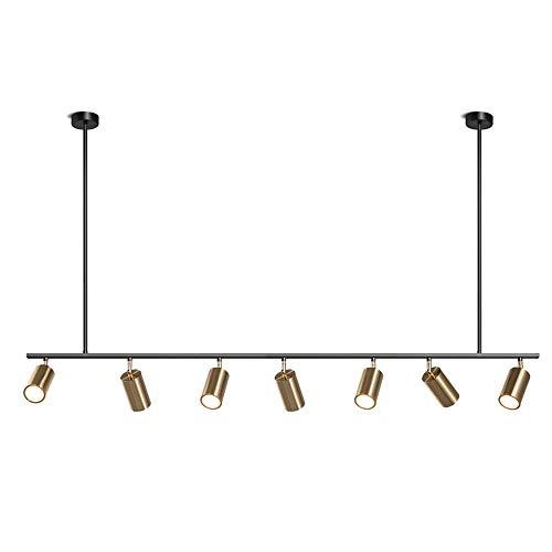 ZMH LED Pendelleuchte Deckenleuchte 7- Flammig (Inkl.7 x 3W Leuchtmittel GU10) Hängeleuchte...