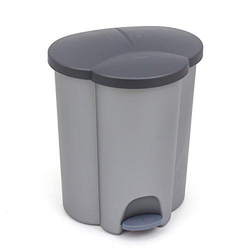 CURVER - Cubo Basura 40litros 3Compartimentos