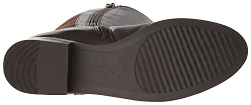 Trotters Lucia Too Femmes Synthétique Botte Dk Brown