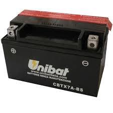 Unibat-Batteria per moto 12 V, CBTX7A YTX7A-BS-BS)