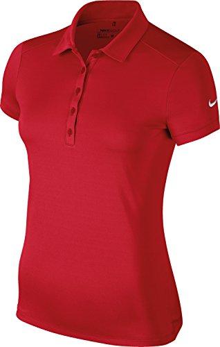 Nike - Polo - Femme Rouge Université