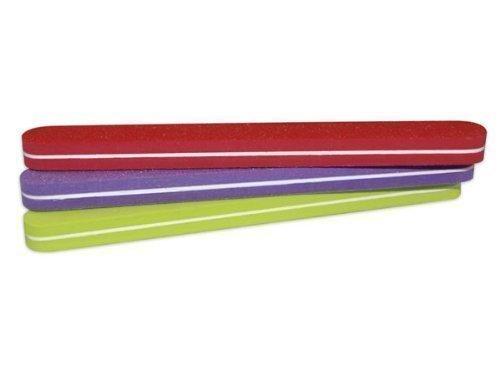 EuBeCos Professionnel Fichier tampon Superflex en Coloré Lot De 3