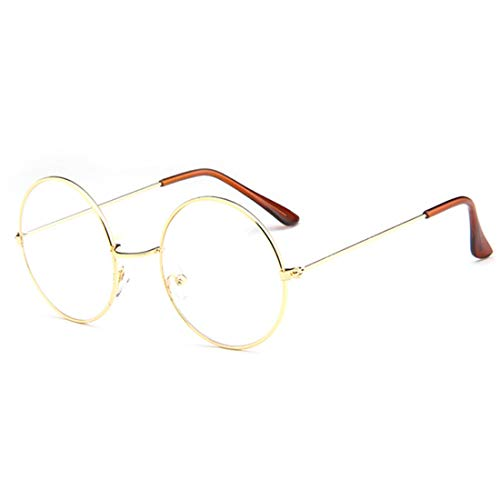 Yefree Fashion Unisex Retro Metall Eyewear Full Circle Frame Optische Gläser