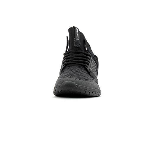 Supra Herren Method Sneaker Schwarz (Black-Black)